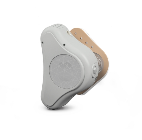 MED-EL USA receives FDA clearance for ADHEAR, a revolutionary non-surgical bone conduction hearing solution (Photo: Business Wire)