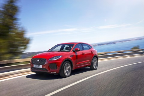 2018 Jaguar E-PACE 5-seat compact performance SUV (Photo: Business Wire)