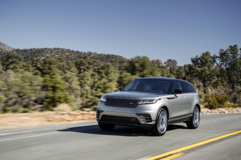 2018 Range Rover Velar mid-size luxury SUV (Photo: Business Wire)