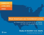 Cigna study finds Americans are lonely. (Graphic: Business Wire)