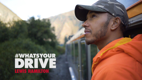 Lewis Hamilton featured in the TOMMY HILFIGER #WhatsYourDrive documentary mini-series