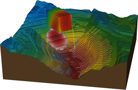 Die Anwendungen von SoilVision bieten ingenieurtechnische Fähigkeiten im Zusammenhang mit Bodenbeschaffenheit, Bodenverhalten und Grundwasserfluss.