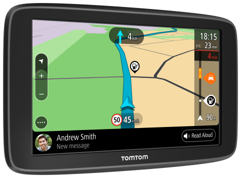 Hit the Road with the New TomTom GO Basic (Photo: Business Wire)