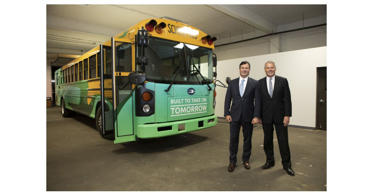Blue Bird Zero-Emissions Electric School Buses Spark Interest in New