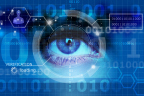 Iris recognition for automated border control. Credit: istockphoto