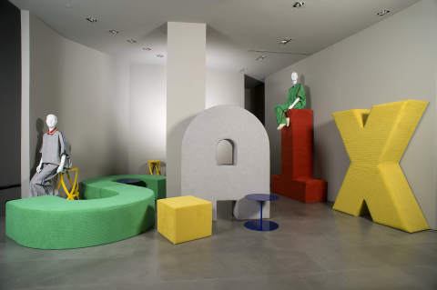 Alcantara reveals INITIAL Interior Collection at Milan Design Week (Photo: Business Wire)