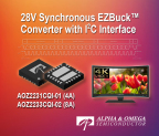 I2C Controllable EZBuck™ Regulator (Graphic: Business Wire)