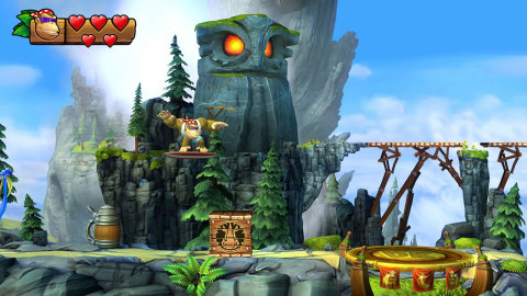 The Donkey Kong Country: Tropical Freeze game will be available on May 4. (Graphic: Business Wire)