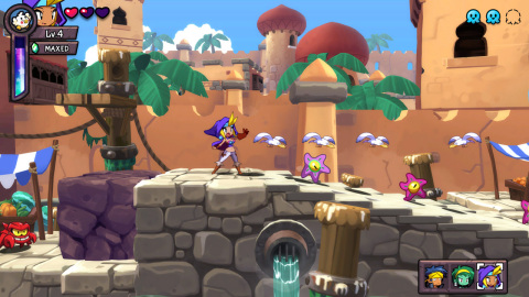 The Shantae: Half-Genie Hero Ultimate Edition game will be available on May 8. (Graphic: Business Wire)