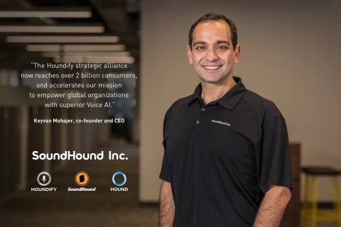 SoundHound Inc. co-founder and CEO, Keyvan Mohajer (Photo: Business Wire)