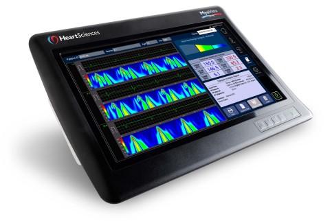 HeartSciences' MyoVista wavECG Device with Informatics (Photo: Business Wire)