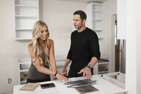 Christina and Tarek El Moussa, stars of HGTV's 'Flip or Flop' (Photo: Business Wire)