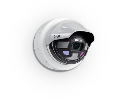 FLIR針對商業企業推出FLIR的下一代戶外周邊安全監控攝影機系列Saros(照片:美國商業資訊)