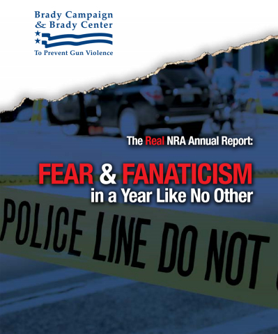 The Real NRA Annual Report: Fear & Fanaticism in a Year Like No Other (Graphic: Business Wire)