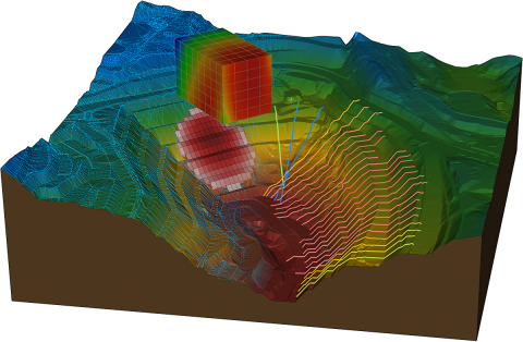 Le applicazioni SoilVision offrono funzionalità per l'ingegneria legata alle proprietà del suolo, al comportamento del suolo e al flusso delle falde acquifere.