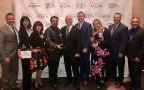 Jeunesse executives accept awards at the 9th annual Direct Selling News Global 100 Celebration in Dallas on May 2, 2018. (Photo: Business Wire)