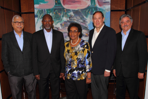 Members of The International Elections Advisory Council (IEAC) (Photo: Business Wire)