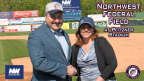 Jeff Bentley and Lani Silber Weiss, President/COO of the Potomac Nationals (Photo: Business Wire)