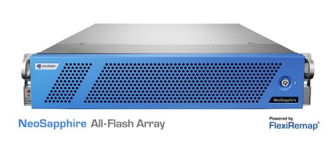 NeoSapphire P710-SLED All-Flash storage platform (Photo: Business Wire)