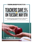 Food Lion Celebrates Teachers With 5% MVP Discount on Teacher Appreciation Day, Tuesday, May 8 (Photo: Business Wire)