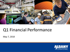 Albany International Reports First-Quarter Results