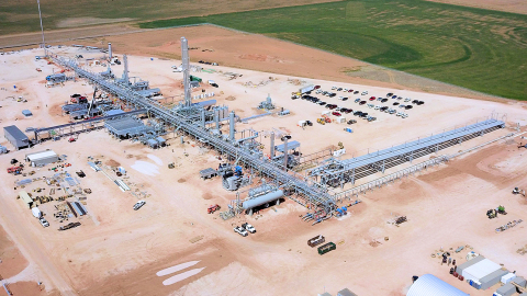 "Canyon Midstream Partners II, LLC (""CMP2"") Redcliff Plant, a 200 million cubic feet per day (MMcf/d) GSP cryogenic gas processing facility in Woodward County, OK (Photo: Business Wire)"