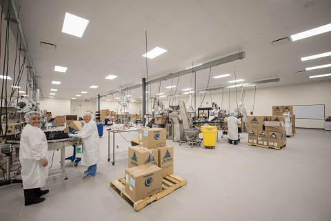 Biovation Labs earns NSF GMP Registration for its contract manufacturing facility in Salt Lake City (Photo: Business Wire)