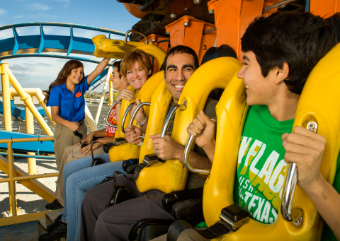 Meet new people, ride all of your favorite roller coasters and have a blast this summer working at Six Flags! National Hiring Day is Saturday, May 12. Apply in person or online at sixflagsjobs.com. (Photo: Business Wire)