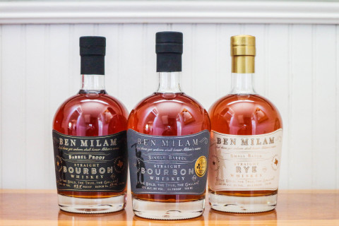 Ben Milam Whiskey garners three awards at 2018 San Francisco World Spirits Competition. (Photo: Business Wire)