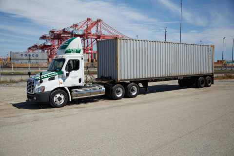 Clean zero-emissions trucks are being deployed in CA ports to improve air quality. (Photo: Business Wire)