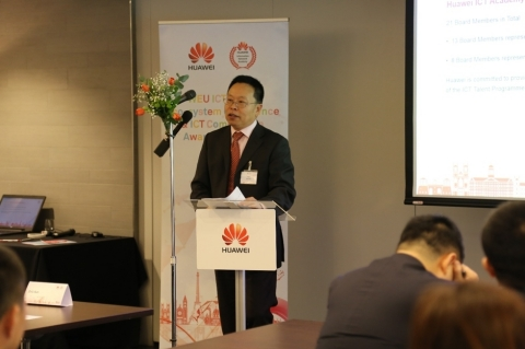 Professor Zhili Sun, Vice-Chair Academia of the Huawei ICT Academy Advisory Board (Photo: Business Wire)