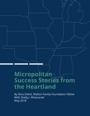 The Walton Family Foundation releases new research: Micropolitan Success Stories from the Heartland (Graphic: Business Wire)