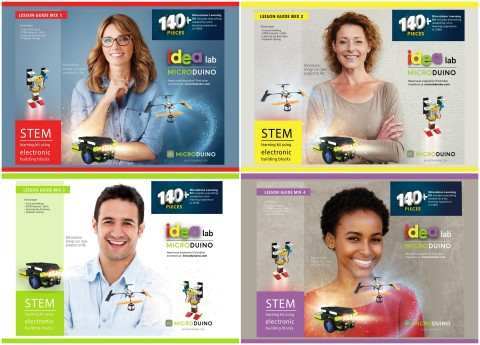 Targeted at students ages nine and up, and ideal for STEM/STEAM education, Microduino Mix Kits come in four levels, Mix 1-4, with each kit including 12 projects pre-coded in Scratch 3.0, electronic components, and complimentary lesson plans. (Photo: Business Wire)