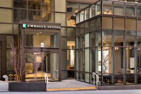 Embassy Suites by Hilton New York - Midtown Manhattan (Photo: Business Wire)