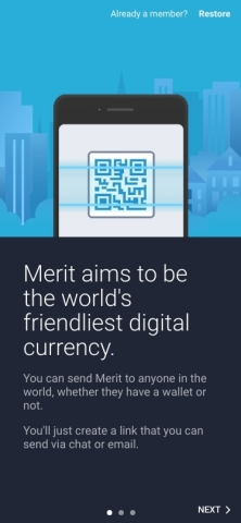 Merit Cryptocurrency (Graphic: Business Wire)