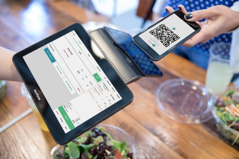 SpotOn Adopts Verifone Carbon with Connect, Helping SMBs in North America Transform the Checkout Experience (Photo: Business Wire)