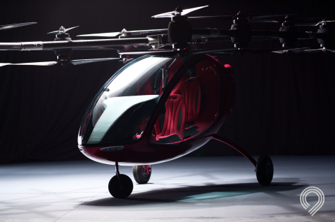 Astro Aerospace fully functioning Passenger Drone (Photo: Business Wire)