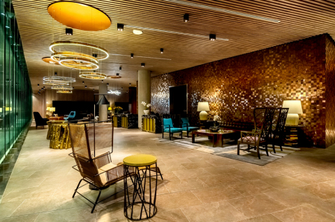 Lobby in Hyatt Centric San Isidro Lima (Photo: Business Wire)