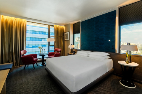 Guest room in Hyatt Centric Las Condes Santiago(Photo: Business Wire)