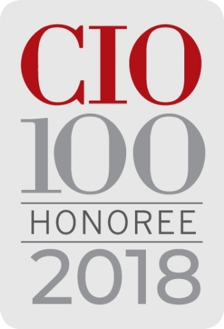 PPG was recently recognized as a CIO 100 award winner for fourth time. (Graphic: Business Wire)