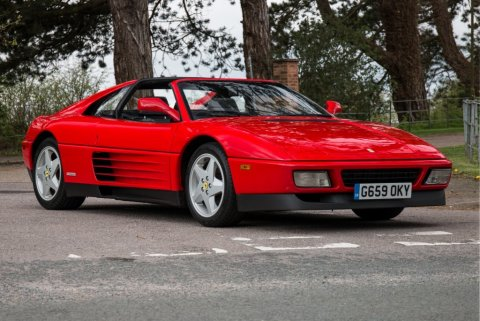 One of the first off the production line, this left-hand-drive vehicle has only 3,985 miles. This car is in remarkable condition and is one of 33 Ferraris up for bid with Silverstone Auctions on May 18. (Photo: Silverstone Auctions)