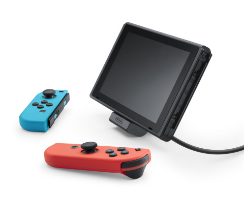 Launching on July 13 at a suggested retail price of $19.99, a new adjustable charging stand for the Nintendo Switch system makes playing in Tabletop mode easier than ever. (Photo: Business Wire)