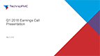 TechnipFMC First Quarter 2018 Earnings Call Presentation