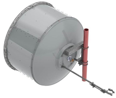 CommScope's new USX microwave antenna helps wireless backhaul links operate at their highest data rates for longer. (Photo: Business Wire)