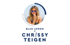 Introducing Blue Apron x Chrissy: Chrissy Teigen Brings Six of Her Favorite Recipes to Blue Apron Menus This Summer (Graphic: Business Wire)