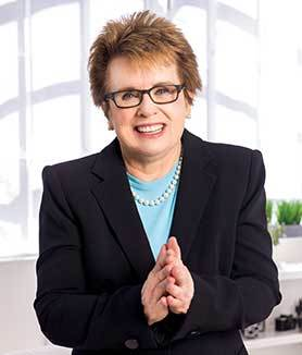 Sports Icon and Social Justice Pioneer Billie Jean King to Deliver GBTA Convention 2018 Monday Keynote (Photo: Business Wire)