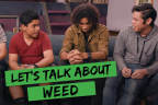 An innovative social media campaign in Los Angeles aims to prevent marijuana use among teens. These videos, which include round-table discussions, were inspired by teens and will reach youth directly on their phones. (Photo: Business Wire)