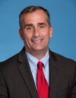 Brian Krzanich is the chief executive officer of Intel Corporation. (Credit: Intel Corporation)