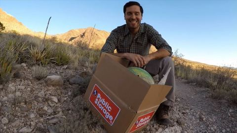 A Public Storage fan from El Paso, Texas, won the company's Things She Saved Video Contest. His enthusiasm in the video earned him more than 1,400 views by the time voting ended May 10, 2018, and he won the $5,000 prize! (Photo: Business Wire)