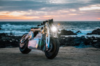 """Curtiss Zeus Wins Prestigious """"Most Innovative Motorcycle"""" Award at The Quail Motorcycle Gathering in Carmel, California (Photo: Phil Hawkins)"""